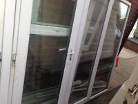 used upvc french doors £85