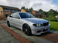 🔹️BMW 330cd M-sport coupe • Remapped 290bhp • 135k miles • F/S/H🔹️