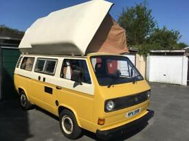 VW T25 Super Viking 5 Berth Transporter Campervan