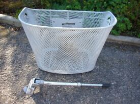 Bicycle Basket and Side Stand