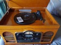 Stortford Model 8714 - Record Player with ability to record to mp3 plus CD and radio