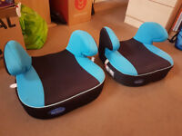 2 X Used Car Booster Seats For Sale