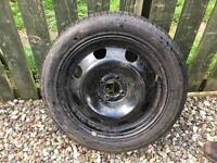 Renault Scenic steel wheel & tyre 205/50/16
