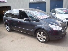 Ford S-MAX Titanium TDCI 143,7 seat MPV,FSH,runs and drives very well,great all round family car,68k