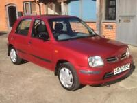 Nissan micra 1.3 petrol with long mot cheap ideal first car