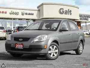 2009 Kia Rio EX   LOW LOW K'S   LOCAL TRADE IN   CERTIFIED