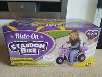 6v Battery Motorised Ride On - Brand New in Box