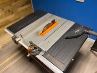 Evolution table saw, less than 6 months old RRP £150