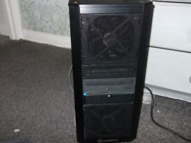 computer tower only,old quad core pc.