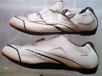 Shimano R088 road race cycling shoes size 47 (UK 12) fit all cleats swap possible bike bicycle