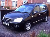 2008 kia carens on a 58 plate it is the gs crdi 7 seats
