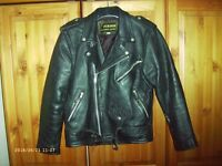 Traditional Leather Motorcycle jacket