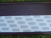 225mm Eurocell Rosewood Woodgrain 9mm Capping Board Fascia
