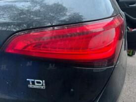 2013 Audi Q5 s line led rear lights left and right