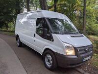 Ford transit lwb hr ,full test, heavy duty springs £4895ono no vat