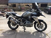 2014 63 BMW LC R1200GS BLACK ** New SHAPE* *