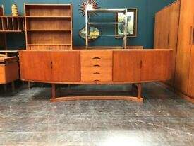 HB20 Sideboard by Johannes Andersen for Hans Bech. Retro Vintage Mid Century Danish