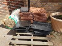 FREE TO COLLECT - ROOF TILES, SLATES, ROOF INSULATION JOB LOT