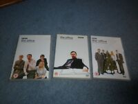 DVDs THE OFFICE COMPLETE FIRST SERIES.SECOND SERIES/XMAS SPECIALS