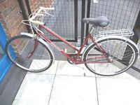 Gorgeous Vintage Lightweight Dutch style 3 speed bike, serviced