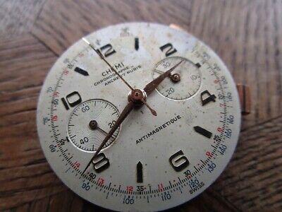 Vintage CHEMI LANDERON 248 Chronograph Movement for parts.
