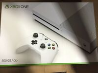 Xbox One S 1TB boxed like new with games