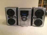 Sony HiFi Stereo System 3 disc CD/Radio/Tape