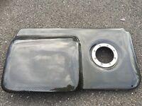 Carbon fibre Engine Cover for 20V Turbo BAM engine