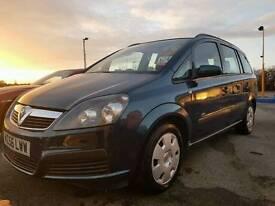 2007 Vauxhall zafira 1.6 life petrol 75.000 miles 7 seater