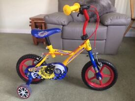 Lovely Colourful Childs Bike In Excellent Condition. Comes With Stabilisers
