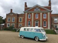Classic VW Kombi for wedding transport