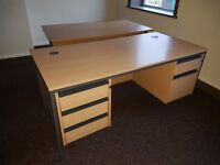 OFFICE DESKS - large quantity, absolutely perfect for an office startup -