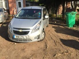 For sale chevrolet spark 1.0-petrol ,58kw,5-speed manual,2011-reg