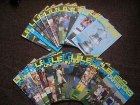 Football Programmes Leeds United 1982/83 Season