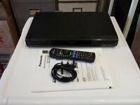 panasonic DMR-EX773 dvd recorder with remote and manual