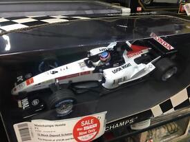 Minichamps BAR Honda 007 T Sato 2005 model formula 1 car 1/18