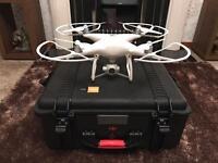 DJI phantom 4 drone with accessories