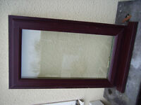 UPVC DOUBLE GLAZED WINDOW... mahogany outer/white inner top opening.
