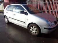 BREAKING VW POLO 2004 SILVER - ALL SPARES AVAILBLE - BUMPER? DOOR? ALLOYS? BONNET? WING? TAILGATE?