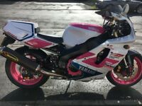 Yamaha YZF750R with 1000cc Thunderace Conversion R1 Suspension PX Supermoto Enduro