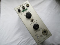 Tektronix Type 122 Low Level Preamp plug-in - rare and collectible!