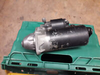Bosch starter motor from Vauxhall Zafira - fits several other Vauxhall engines