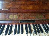 Piano and seat