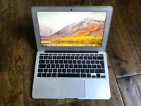 "Apple MacBook Air 11"" mint 1.7Ghz dual core i5 turbo 2.7 4 GB Ram, only 38 Battery cycle count"