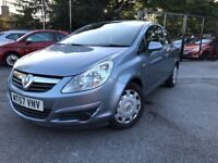57 plate - vauxhall corsa 1.2 - one year mot - warranted miles - 2 former keepers - low insurance