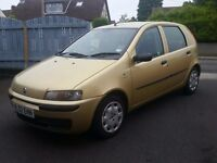 2002 FIAT PUNTO 1.2 5DR, FULL YEAR MOT, T-BELT DONE, P/X TRADE IN WELCOME