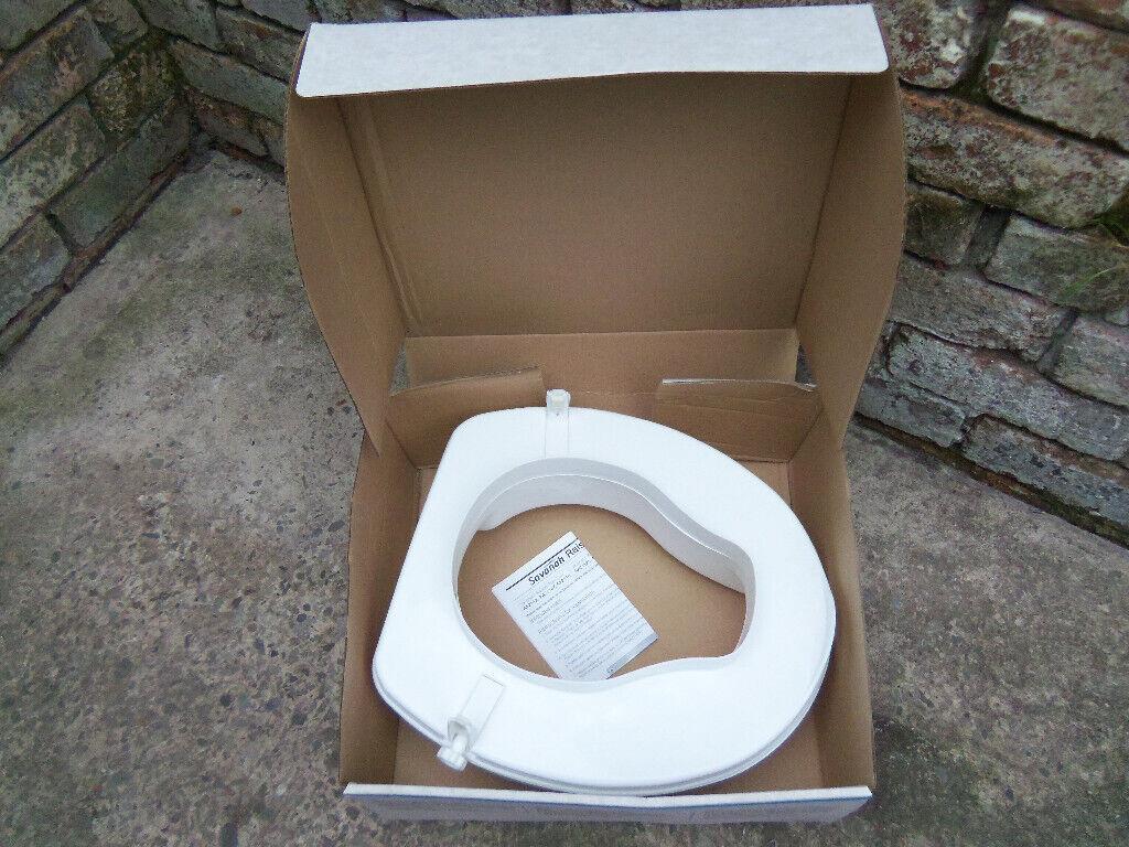 Fine Raised Toilet Seat Savanah By Homecraft Rolyan Brand Height 10Cm In Penny Lane Merseyside Gumtree Dailytribune Chair Design For Home Dailytribuneorg