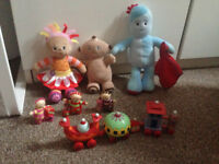 In the Night Garden Ninky Nonk Iggle Piggle Upsy Daisy Makka Pakka Tombliboos