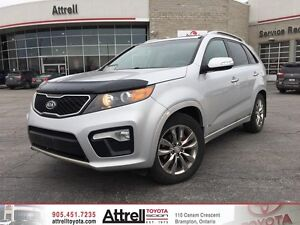 2011 Kia Sorento SX. Keyless Entry, Navigation, Dual Moonroof.