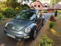2003 Volkswagen Beetle 1.6 3dr **LONG MOT/ELECTRIC SUNROOF**